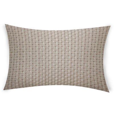 Ocallaghan Lumbar Pillow Color: Brown