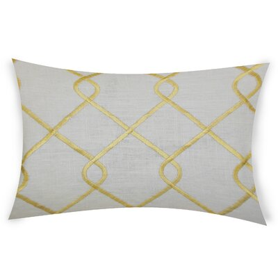 Espada Cotton Throw Pillow Color: Yellow