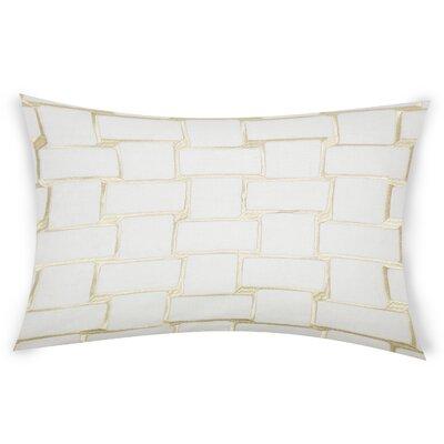 Colophon Lumbar Pillow Color: Beige
