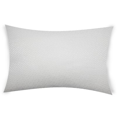 Glenwhirry Throw Pillow Color: White