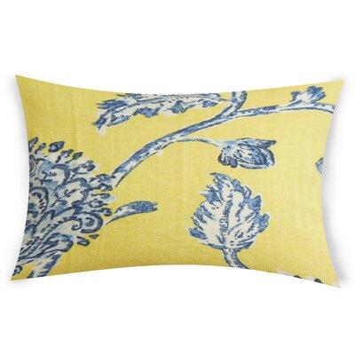 Espana Lumbar Pillow Color: Blue