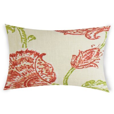 Espana Lumbar Pillow Color: Orange