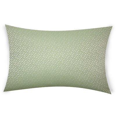 Glenwhirry Throw Pillow Color: Green