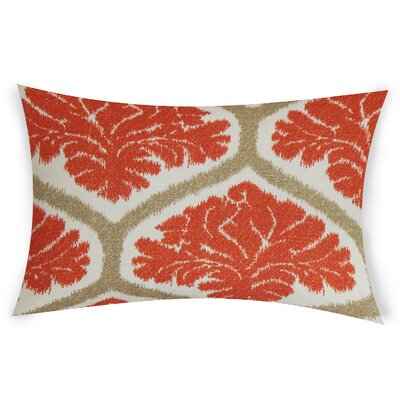 Esparza Cotton Lumbar Pillow Color: Orange