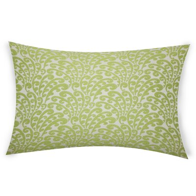 Lavulo Throw Pillow Color: Green
