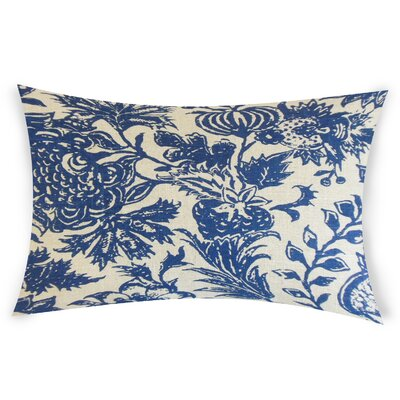 Espino Lumbar Pillow Color: Blue