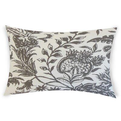 Espino Lumbar Pillow Color: Charcoal