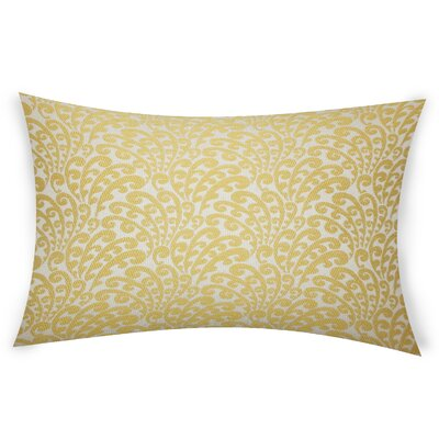 Lavulo Throw Pillow Color: Yellow