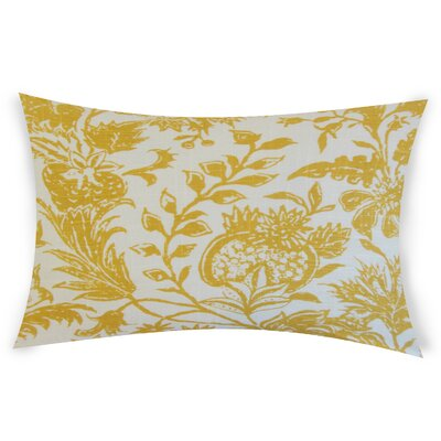 Espino Lumbar Pillow Color: Yellow