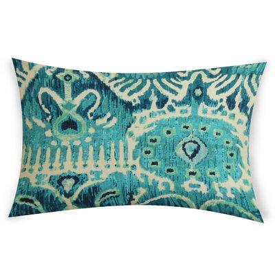 Odle Cotton Lumbar Pillow Color: Sky Blue