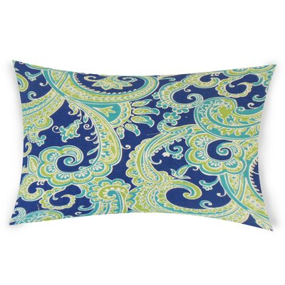 Odoms Lumbar Pillow Color: Blue