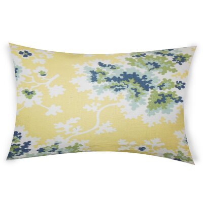 Espinoza Lumbar Pillow Color: Yellow