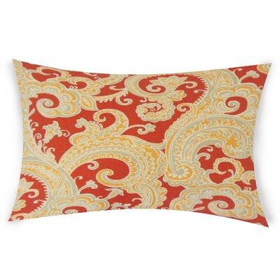 Odoms Lumbar Pillow Color: Pink