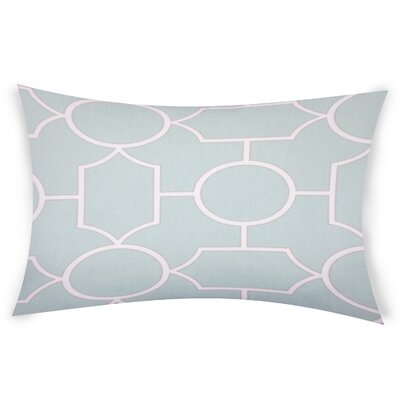 Colston Cotton Lumbar Pillow Color: Light Green