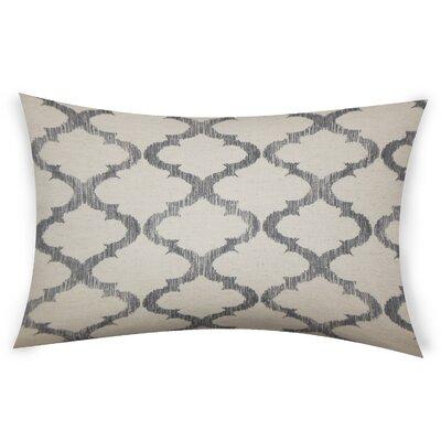 Epling Cotton Lumbar Pillow Color: Gray