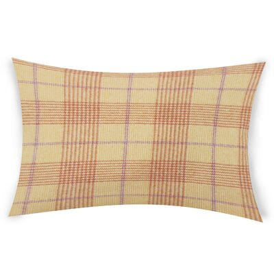 Wang Wool Lumbar Pillow Color: Brown