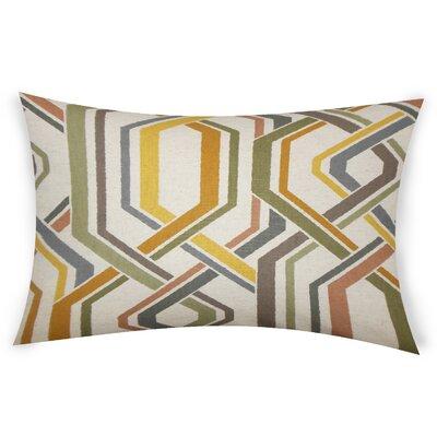 Oaks Cotton Lumbar Pillow Color: Gray
