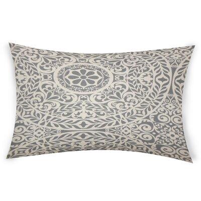 Epps Cotton Lumbar Pillow Color: Gray