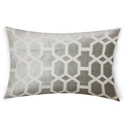 Epstein Cotton Lumbar Pillow Color: Gray