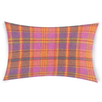 Feeley Wool Throw Pillow Color: Orange
