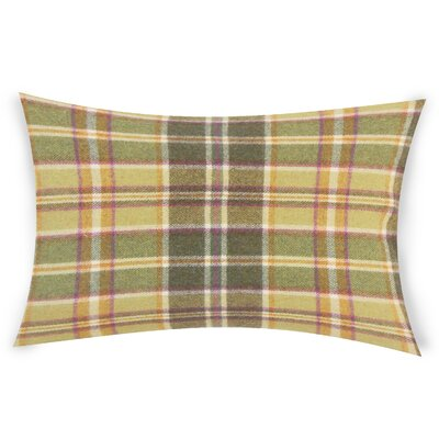 Feeley Wool Throw Pillow Color: Green