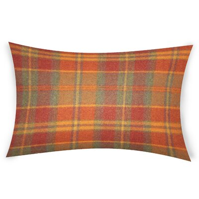 Feeley Wool Throw Pillow Color: Red
