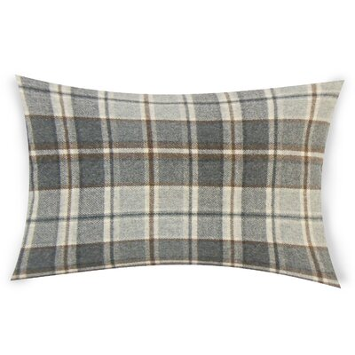 Feeley Wool Throw Pillow Color: Gray