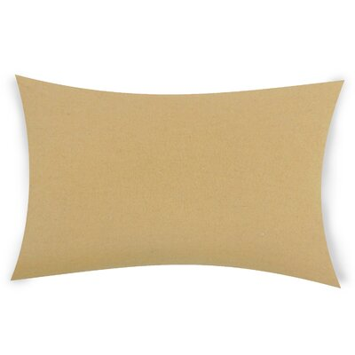 Dove Springs Wool Lumbar Pillow Color: Coffee