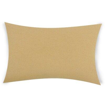 Dove Springs Wool Lumbar Pillow Color: Coffee