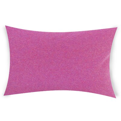 Dove Springs Wool Lumbar Pillow Color: Purple
