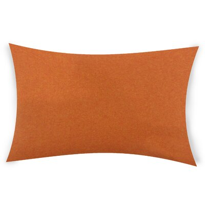 Goldhawk Lumbar Pillow Color: Orange