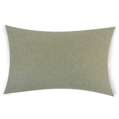 Dove Springs Wool Lumbar Pillow Color: Green