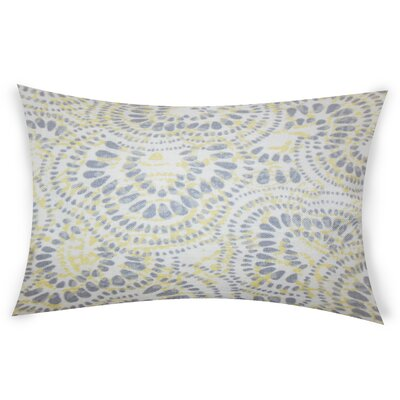 Combest Cotton Lumbar Pillow Color: Yellow