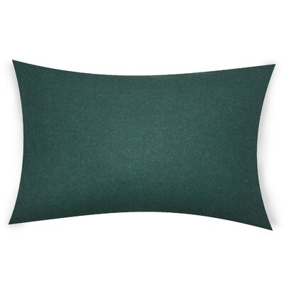 Dove Springs Wool Lumbar Pillow Color: Rama