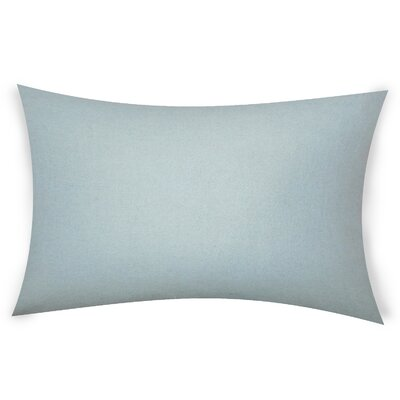 Dove Springs Wool Lumbar Pillow Color: Mud