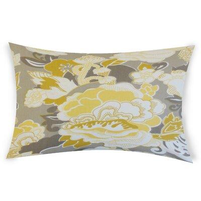Ohare Cotton Lumbar Pillow Color: Yellow