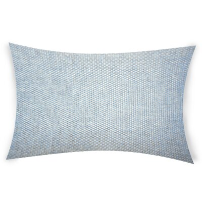 Hayhurst Lumbar Pillow Color: Blue