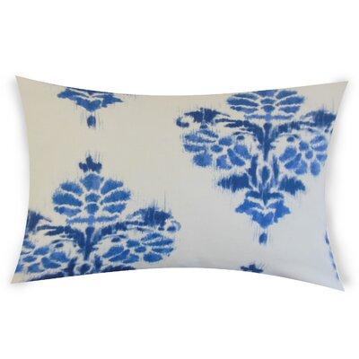 Olague Cotton Lumbar Pillow Color: Blue