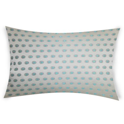Colucci Lumbar Pillow Color: Blue