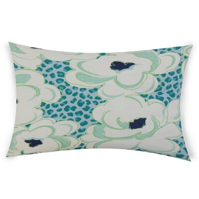 Gosson Lumbar Pillow Color: Turquoise