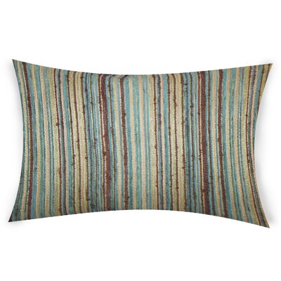 Haynie Lumbar Pillow Color: Brown