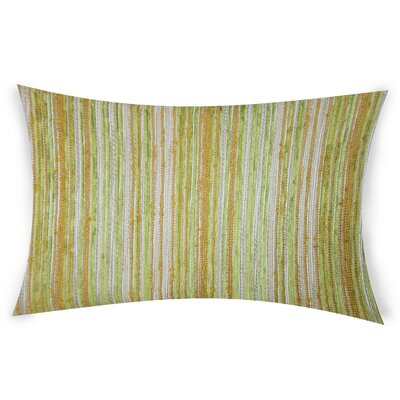Haynie Lumbar Pillow Color: Green