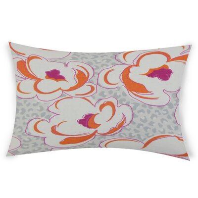 Gosson Lumbar Pillow Color: Orange