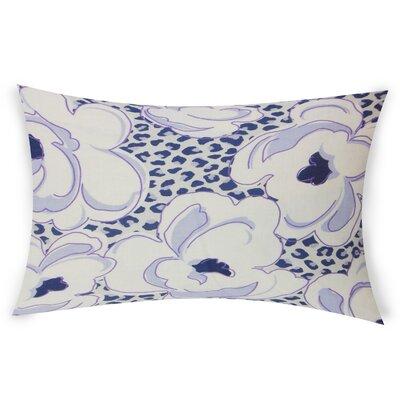 Gosson Lumbar Pillow Color: Purple