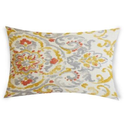 Goucher Lumbar Pillow Color: Yellow