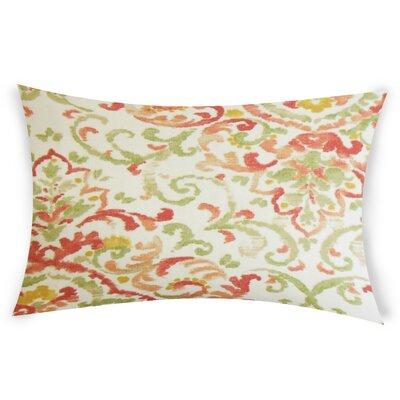 Goucher Lumbar Pillow Color: Orange