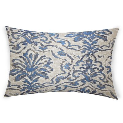 Esquer Lumbar Pillow Color: Blue