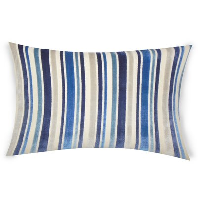 Bramblewood Lumbar Pillow Color: Blue