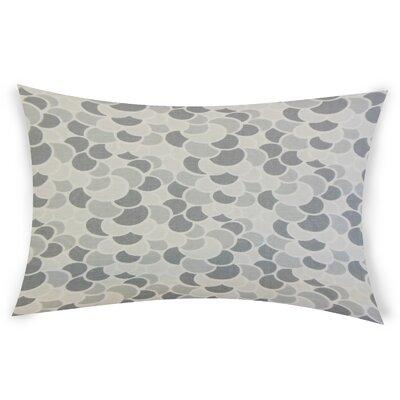 Oberg Cotton Lumbar Pillow Color: Gray