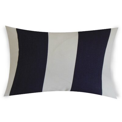 Oaklawn Cotton Lumbar Pillow Color: Blue